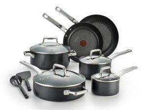 T-fal Pro Grade Titanium Nonstick Cookware Set (12-Piece)