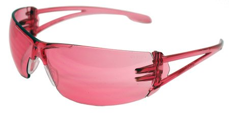 WOMENS PINK SHOOTING SAFTEY GLASSES -GREAT FOR AIRSOFT, PAINTBALL, AND TARGET SHOOTING -Varsity Safety Glasses - Pink
