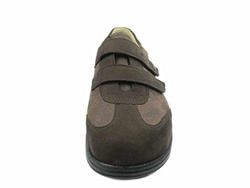 Finn marrón 2226901715 mujer para Mocasines Comfort Piel de OrwOqZ