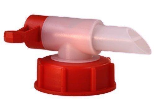 Sabeu Fluxx AH 23/61 HF Auslaufhahn / Dosierhahn für 15-60 Liter Kanister 3378 (DIN 61 Gewinde Kanister) Gluckerfrei