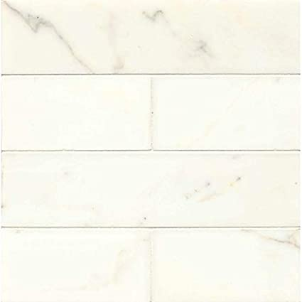 15/16 x 12 Davinci Calacatta Gold 3 x 12 Tile - - Amazon com