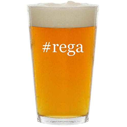 Price comparison product image #rega - Glass Hashtag 16oz Beer Pint