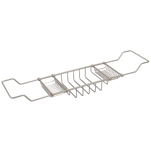 Water Creation BC-0001-02 Expandable Bath Caddy for The Elegant ()