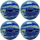 EPCO Candlepin Bowling ball- Marbleized – ブルー&ホワイト4つボール B078FR9S1X  4 1/2 inch- 2lbs. 5oz.