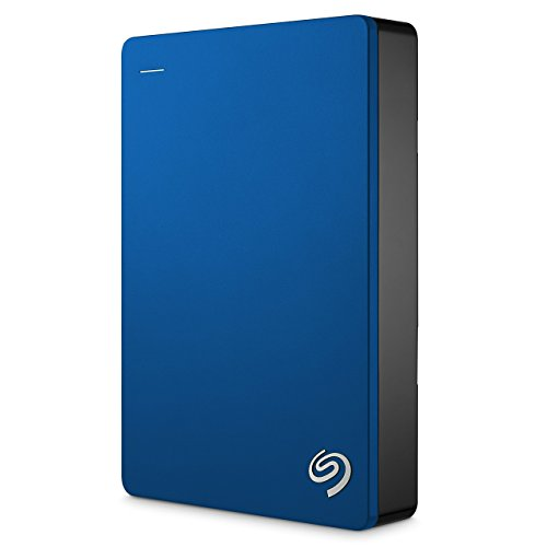Seagate Backup Plus Portable, External Mobile Hard Drive USB 3.0, 2,5 inch for PC & MAC & PS4 (Certified Refurbished), Capacity:4.000GB (4TB), Color:Blue