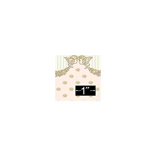 Dollhouse Miniature 6 Pack Wallpaper: Cherubs (Cherub Wallpaper)