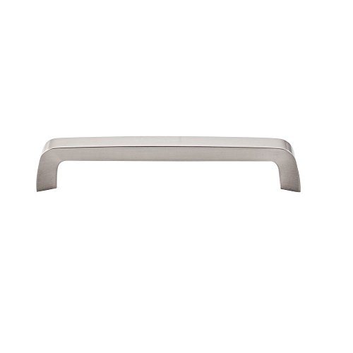 - Top Knobs M1170 Nouveau III Collection 6-5/16 Inch Tapered Bar Pull, Brushed Satin Nickel