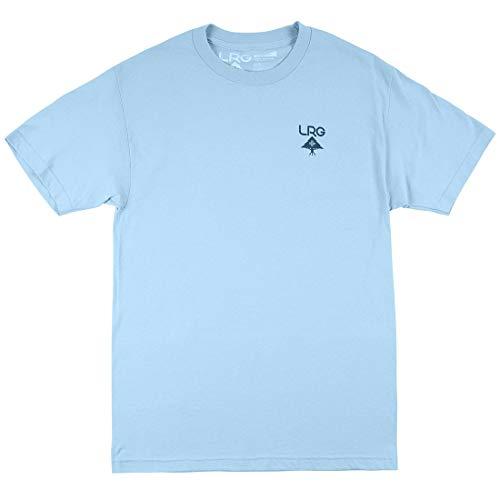 LRG Logo Plus T-Shirt - Pale Blue - LG (Shirts With Weed Logo)