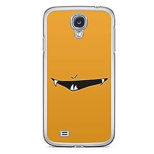 Smiley Samsung Galaxy S4 Transparent Edge Case - Design 9