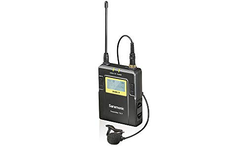 Saramonic 96-Channel Bodypack Transmitter Unit - TX9 (UwMic9 Lavalier Microphone)