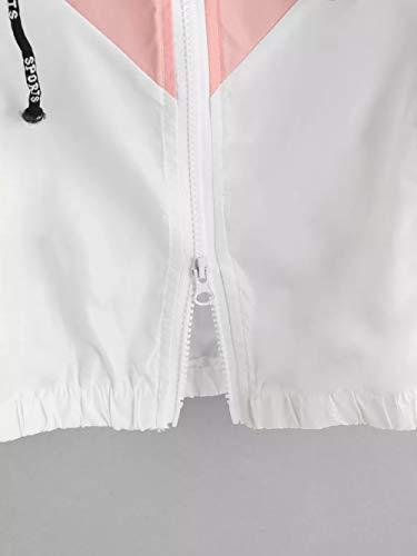 Giacche Cappuccio Longra Maniche Hoodie Leggere Giacca Classico Top Sportivo Cappotto Con Felpe Lunghe Zip Sweatshirts A Donna La Camicetta Bianco Magliette F5RZxpq