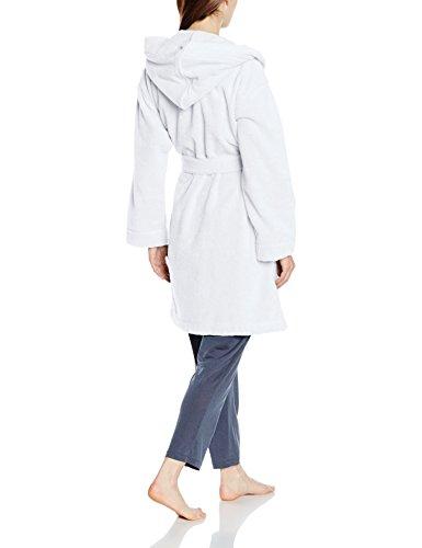 Féraud, Albornoz para Mujer, Turquesa, M Blanco (Weiss 10008)