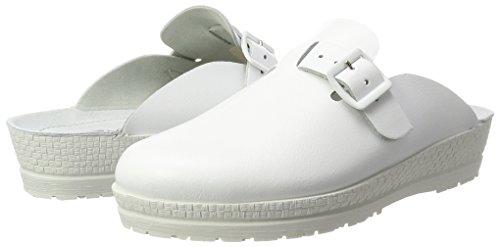 Beige 1447 00 Neustadt blanc Sabots Femme Rohde wnCpX8qq0