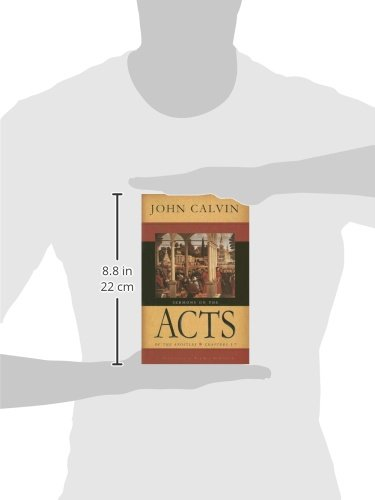 Sermons On The Acts Of Apostles Chapters 1 7 John Calvin Rob Roy McGregor 9780851519685 Amazon Books