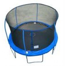 Net for 12ft Trampoline, use with 6 Poles and small Top Ring poles (Poles sold separately, Net & Straps Only) by Super Trampoline