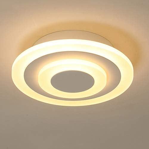Aiqiyi Plafonnier LED La Chambre à Coucher Principale Salon Corridor Lumière Lampe de Salle d'étude Lampe de pièce Ronde Simple et Moderne et créative