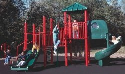 Modular Playground Equipment - Sports Play 911-222B Richard Modular Playground
