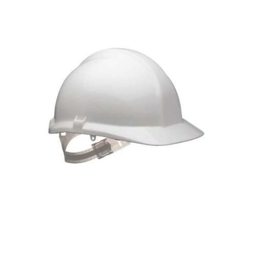 Centurion S17RP Safety Helmet With Reduced Peak 1125 Terylene Harness Orange (Each) S17RP ORANGE