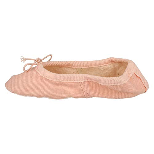 Ballet Canvas Childrens Shoes Soft On Pink Sole Spot UwvEOqfx