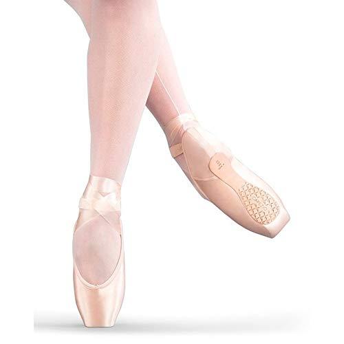 [Capezio] Women 's Airess FlexiFirm Tapered Toe Flats B0106BPF52 ペタルピンク 9.5 B(M) US