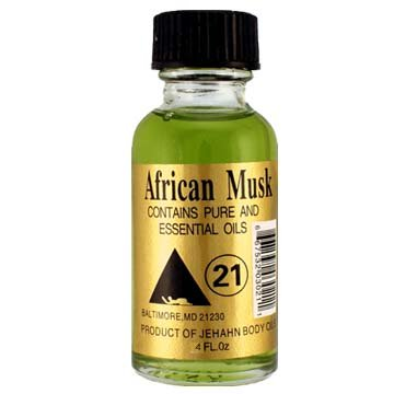 Jehahn Body Oil 4 Oz (African Musk)