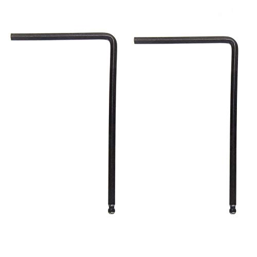 Timiy 4mm and 5m Ball End Allen Wrench for Guitar Truss Rod -