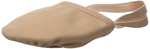 Bloch Dance Womens Eclipse Canvas Shoe, Nude, Medium/7-8.5 M US