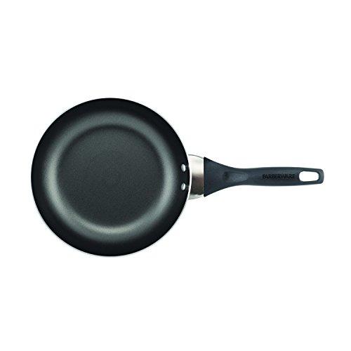 Farberware Dishwasher Safe Nonstick 15-Piece Cookware Set, Red