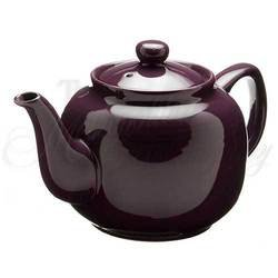 Windsor Plum - 6 Cup Windsor Teapot by Old Amsterdam Porcelain Works
