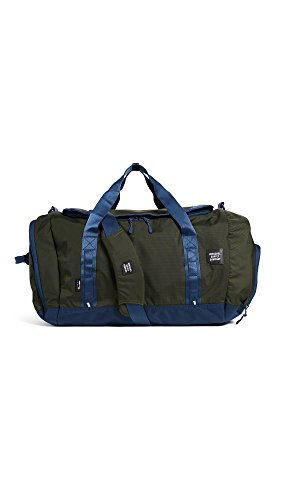 Herschel Supply Co. Men's Gorge Duffel, Peacoat/Forest Midnight, One Size by Herschel Supply Co.
