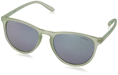 Polaroid Sunglasses PLD6003N Polarized Wayfarer Sunglasses, Crystal/Gray Silver Mirror Polarized, 54 - Sunglass Polaroid