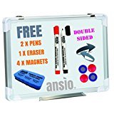 ANSIO A3 42 x 30 cm Magnetic Whiteboard Kit