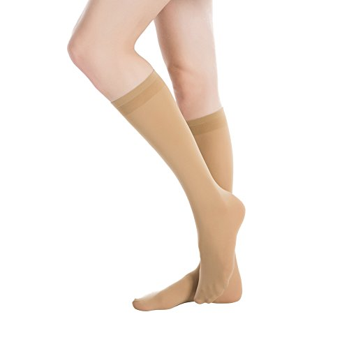 Stocking-Fox-Womens-3-Pack-70-Denier-Everyday-Opaque-Knee-High-Sock