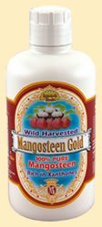 Dynamic Health Mangosteen Gold 100% Pure 32 oz ( Twelve Pack) by Dynamic Health