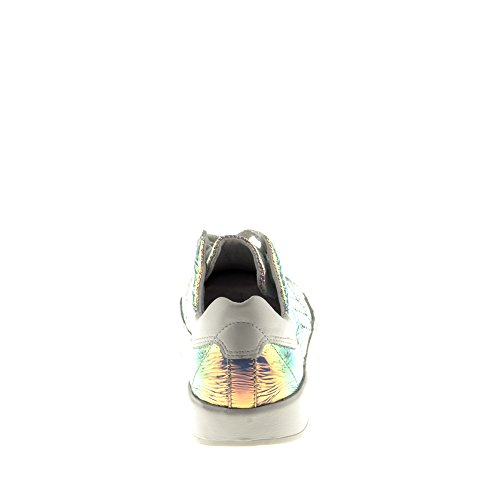Baskets avec B017 Multicolore Femme Trump Véritable Cuir Tomber Chaussures en Felmini Multicolore Amour Aw0TX8qxx