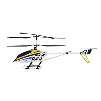 "Radio Road Toys 30"" 3.5CH RC Helicopter - Silver/Yellow/Blue/Red"