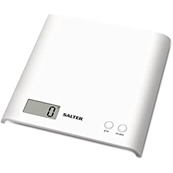 Salter Electronic Kitchen Platform Scale White