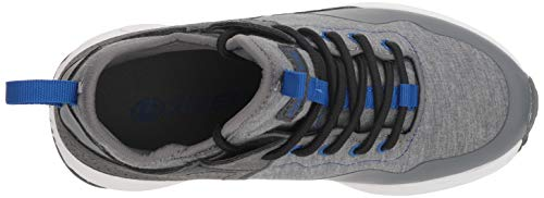 Heelys Boys' Piper Tennis Shoe Grey Heathered/Royal 8 M US Big Kid by Heelys (Image #8)