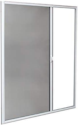 Mosquitera enrollable lateral de aluminio 220x130 cm, color blanco: Amazon.es: Jardín