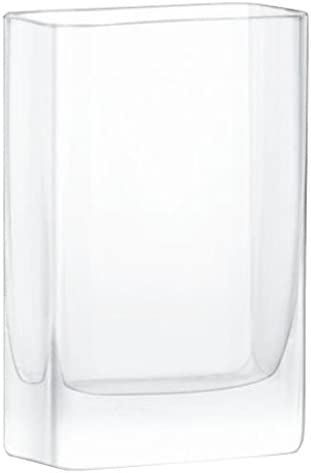 LSA International Modular Vase H6 x W4 x D2in Clear