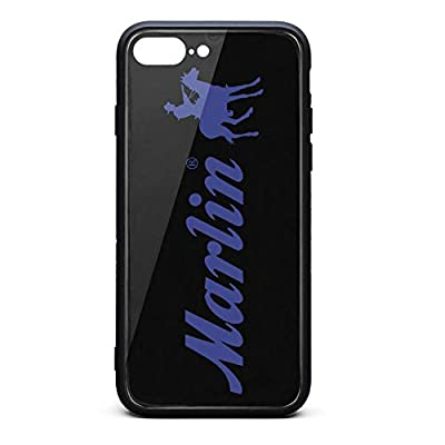 Hybrid Protective Durable Stylish Non-Slip Design Fashionable-Marlin-Classic-Firearms-iPhone Cases Covers for 7Plus(8Plus) Back Cover Anti-Scratch Scratch Resistant Thin Ultra Slim