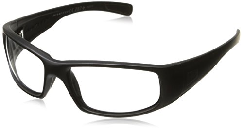 Smith Optics Hideout Tactical Sunglass with Black Frame (Clear Lens) ()