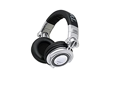 Technics RP-DH1250E-S Professional DJ Headphones with In Line Mic for Mobile