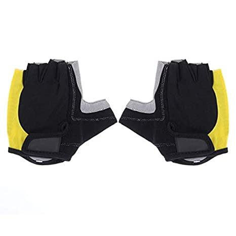 ... Men - Mens Cycling Gloves - Cycling Gloves Half Finger Mens Gel Shockproof Breathable Motocross Bike Bicycle Gloves -1Pair - L : Sports & Outdoors