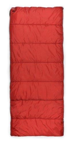 Trailside Treeline 2 Rectangular Synthetic 23-Degree Sleeping Bag, Red