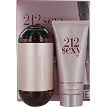 212 Sexy Carolina Herrera 2 Pc Gift Set For Women Soft Fruity Blend Citrus Gardenia Musk
