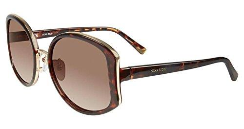 Sunglasses Nina Ricci SNR 054 Shiny Dark Havana - Sunglasses Nina Ricci
