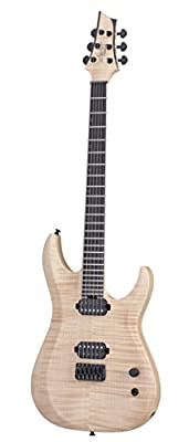 Schecter 6 String Solid-Body Electric Guitar, Natural Pearl (302)