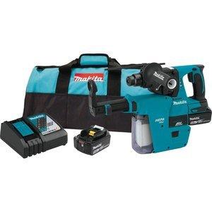 Makita XRH011TX 18V LXT 1'' Rotary Hammer Kit w/ HEPA Vacuum