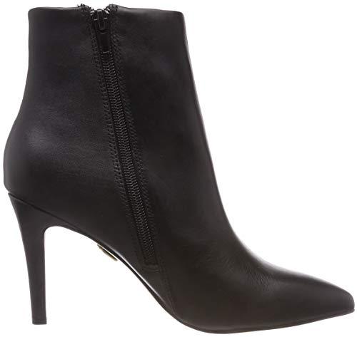 Donna Black 1714b44 Buffalo 00 Nero 01 Leather Stivaletti Nappa 1 ABwvq0wX